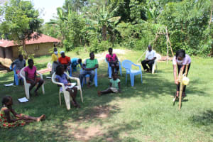 The Water Project: Musango Community, Ndalusia Spring -  Handwashing Session