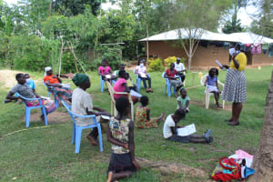 The Water Project: Musango Community, Ndalusia Spring -  Ongoing Covid Training