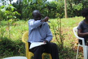 The Water Project: Ilala Community, Arnold Johnny Spring -  Elbow Cough Or Sneeze