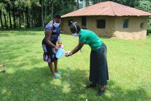 The Water Project: Ilala Community, Arnold Johnny Spring -  Handwashing Training