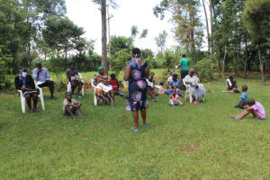 The Water Project: Ilala Community, Arnold Johnny Spring -  Training Session