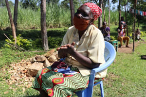 The Water Project: Mukangu Community, Lihungu Spring -  Clean Hands For All