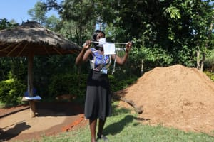 The Water Project: Mukangu Community, Lihungu Spring -  Complete Cloth Mask