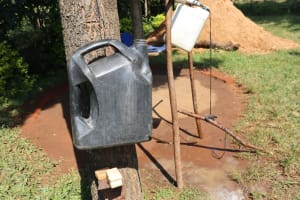 The Water Project: Mukangu Community, Lihungu Spring -  Ideas Of Simple Handwashing Station