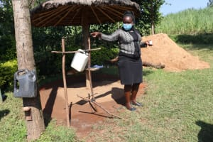 The Water Project: Mukangu Community, Lihungu Spring -  Look At These Great Ideas Of Handwashing Stations