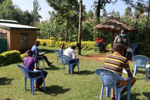 The Water Project: Mukangu Community, Lihungu Spring -  Ongoing Sensitization Training