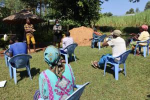 The Water Project: Mukangu Community, Lihungu Spring -  Steps Of Proper Handwashing
