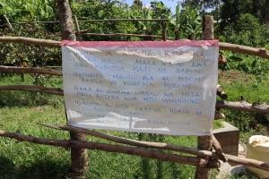 The Water Project: Emulakha Community, Nalianya Spring -  The Chart At Nalianya Spring