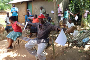 The Water Project: Emulakha Community, Nalianya Spring -  The Social Distancing Test