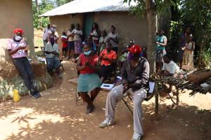 The Water Project: Emulakha Community, Nalianya Spring -  Handwashing Exercise