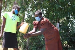 The Water Project: Sambuli Community, Nechesa Spring -  Handwashing