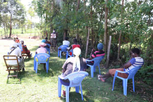 The Water Project: Sambuli Community, Nechesa Spring -  Social Distanced Participants