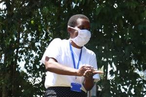 The Water Project: Sambuli Community, Nechesa Spring -  Training On Proper Handwashing