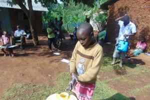 The Water Project: Shihungu Community, Shihungu Spring -  Handwashing