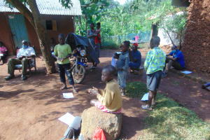 The Water Project: Shihungu Community, Shihungu Spring -  Participants Attending Training