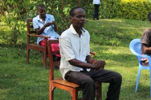 The Water Project: Emukangu Community, Okhaso Spring -  Following Handwashing Steps