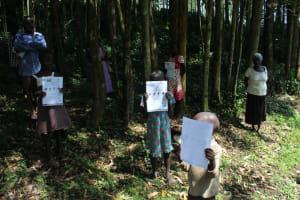 The Water Project: Eshiasuli Community, Eshiasuli Spring -  Handouts Used At The Training