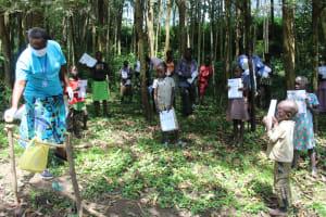 The Water Project: Eshiasuli Community, Eshiasuli Spring -  Ongoing Covid Sensitization