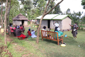 The Water Project: Kalenda A Community, Webo Simali Spring -  A Question And Answer Session At The Training