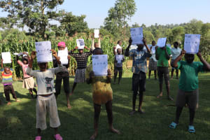 The Water Project: Sasala Community, Kasit Spring -  Community Members After Sensitization