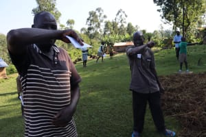 The Water Project: Sasala Community, Kasit Spring -  Elbow Cough