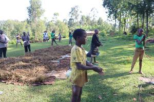 The Water Project: Sasala Community, Kasit Spring -  Handwashing Training