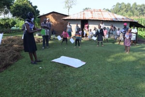 The Water Project: Sasala Community, Kasit Spring -  Mask Making