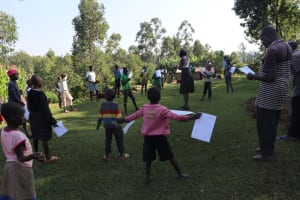 The Water Project: Sasala Community, Kasit Spring -  Social Distancing