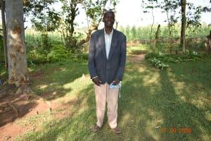 The Water Project: Eshiakhulo Community, Kweyu Spring -  David Kweyu