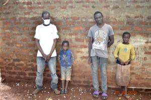 The Water Project: Busichula Community, Marko Spring -  Simon Mulongo With His Son And Grandchildren