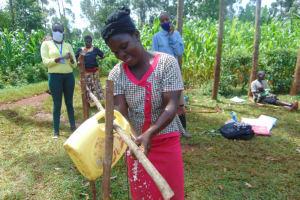 The Water Project: Munzakula Community, Musonye Spring -  Handwashing