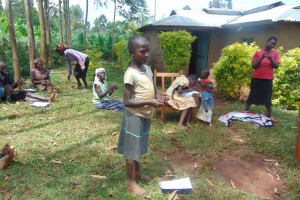The Water Project: Munzakula Community, Musonye Spring -  Handwashing Exercise