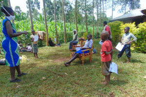 The Water Project: Munzakula Community, Musonye Spring -  Training In Session