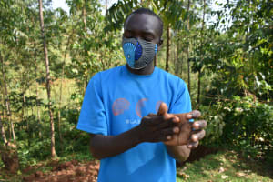 The Water Project: Bumavi Community, Shoso Mwoga Spring -  Clean Hands For All