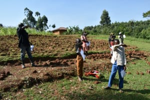 The Water Project: Bumavi Community, Shoso Mwoga Spring -  Elbow Cough