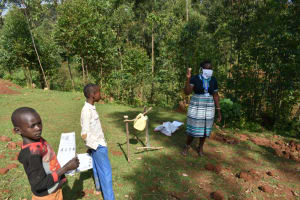 The Water Project: Bumavi Community, Shoso Mwoga Spring -  Emphasis On Soap Use
