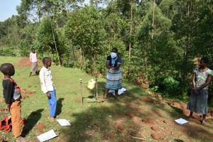 The Water Project: Bumavi Community, Shoso Mwoga Spring -  Handwashing Demonstration