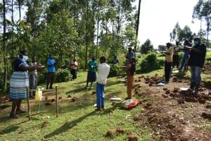 The Water Project: Bumavi Community, Shoso Mwoga Spring -  Handwashing