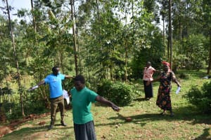 The Water Project: Bumavi Community, Shoso Mwoga Spring -  Social Distancing
