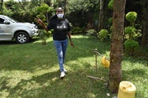 The Water Project:  Georgina Kamau Conducts Handwashing Training