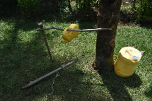 The Water Project:  Set Up Handwashing Station