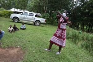 The Water Project: Murumba Community, Muyokani Spring -  A Complete Mask