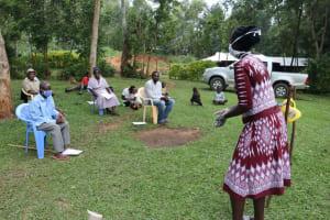 The Water Project: Murumba Community, Muyokani Spring -  Handwashing Exercise