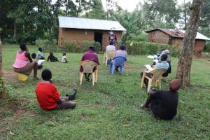 The Water Project: Murumba Community, Muyokani Spring -  Training In Session