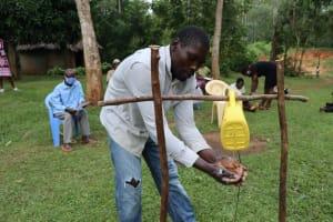 The Water Project: Murumba Community, Muyokani Spring -