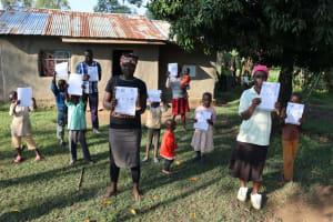 The Water Project: Bukhakunga Community, Indiatsi Omukitsa Spring -  Community Sensitized On Covid