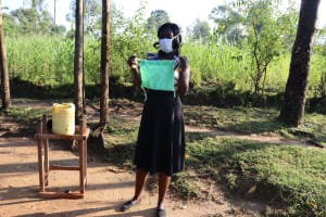 The Water Project: Bukhakunga Community, Indiatsi Omukitsa Spring -  Completed Mask