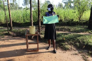 The Water Project: Bukhakunga Community, Indiatsi Omukitsa Spring -  Material To Make Cloth Mask