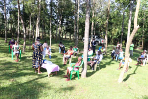 The Water Project: Tsivaka Community, Wefwafwa Spring -  Ongoing Sensitization Training
