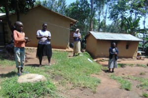 The Water Project: Ebung'ayo Community, Wycliffe Spring -  Handwashing Demonstration
